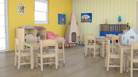 Kindergarden 3 - Kids room - by taiyakkki