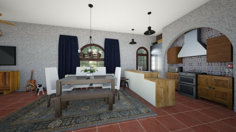 spanish - Kitchen - by cmucklane