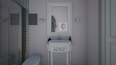 sister - Retro - Bathroom - by Angela Quintieri