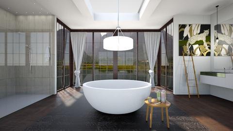 Peaceful - Bathroom - by anamarijag00