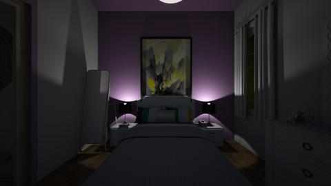 my bedroom plan - Bedroom - by LuckyVicky