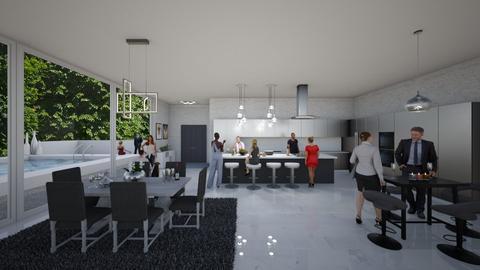 Dinner Party - Modern - Kitchen - by jamieSarabi