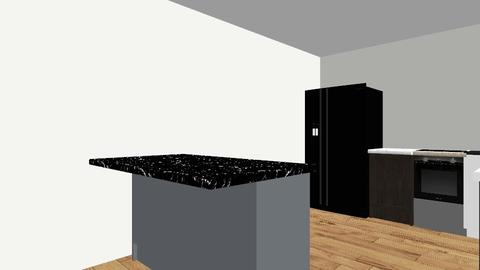 Kitchen Attempt 1 - Modern - Kitchen - by midimaddy