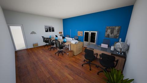 Room Design KMS 2 - Modern - Office - by annadelavega29