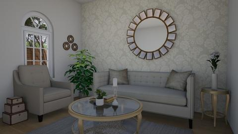 Floral - Living room - by chicki3812