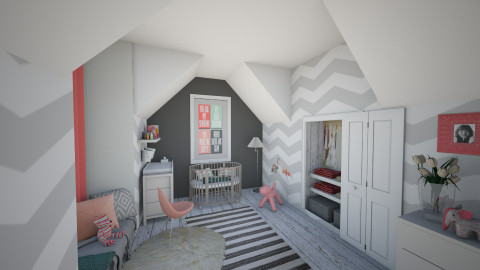 my eclectic baby romm - Kids room - by Dibiduu