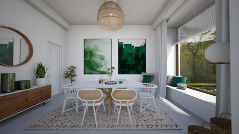 scandinavian dining room - Modern - Dining room - by StienAerts