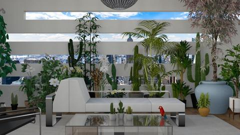 Urban Jungle - Living room - by LuzMa HL