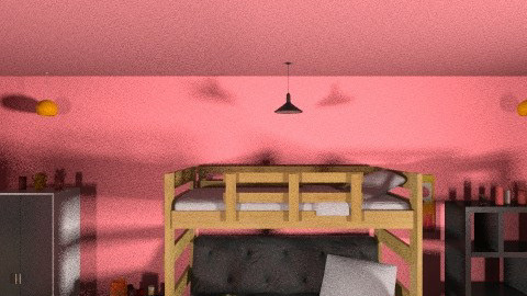 Dream Bedroom - Retro - Bathroom - by Masqueraderuse