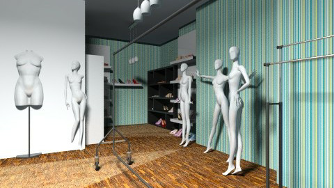 design store - Glamour - Office - by hunter313