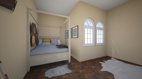 master bedroom - Bedroom - by Harleigh Jester