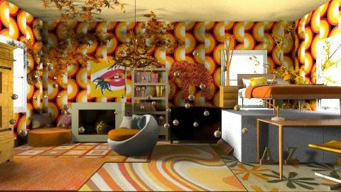 Russian Firebird - Bedroom - by oceanicdesign