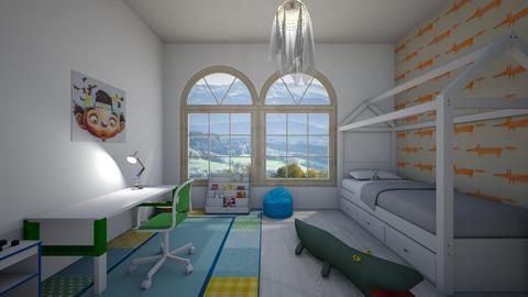 Boy room - Modern - Kids room - by Twerka