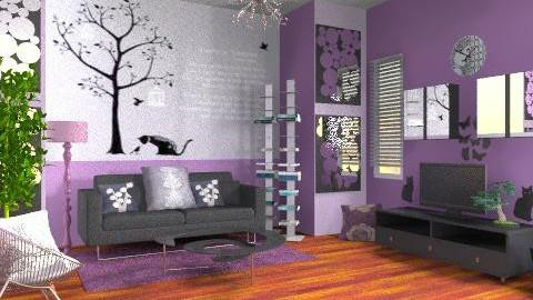 room  - Classic - Living room - by ellena_nice