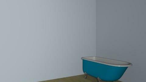 bathroom with chimney breast - Retro - Bathroom - by skatureliya