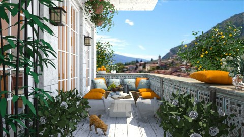 Italie - Modern - Garden - by leger1234567890