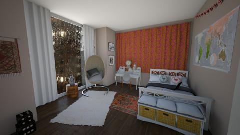angelina - Bedroom - by carli1504