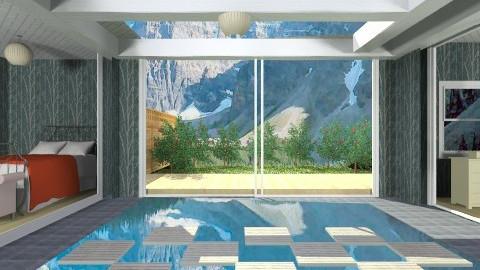 Quarto - Bedroom - by dracul_a