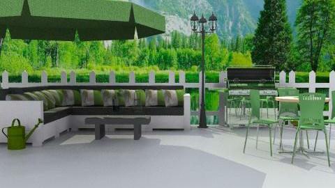 green garden - Classic - Garden - by Cejovic Andrijana