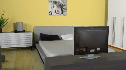 enikovas - Minimal - Bedroom - by enikovas
