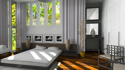 Zen Bedroom - Minimal - Bedroom - by Baustin