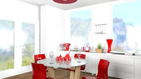 Retro Inspired Kitchen! - Retro - Kitchen - by cara_98