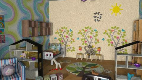 Baby room, play room - Classic - Kids room - by Irena_S