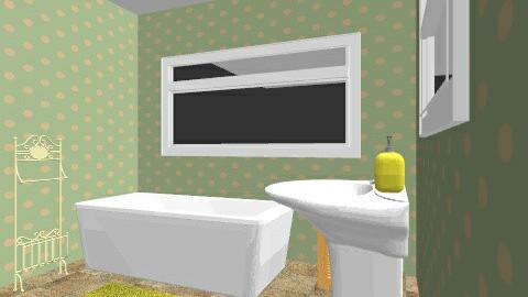 70s bathroom - Retro - Bathroom - by eleanorkk