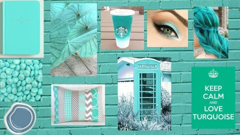 Turquoise - by Anvitha