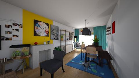 living - Living room - by dirk666