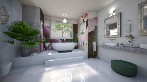 Jungle bathroom - Bathroom - by Andrula