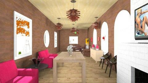 long house - Modern - Living room - by wanda123