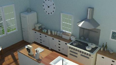 CountryKitchen2 - Country - Kitchen - by camilla_saurus