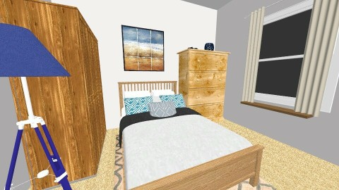 Bedroom I - Modern - Bedroom - by fhenry