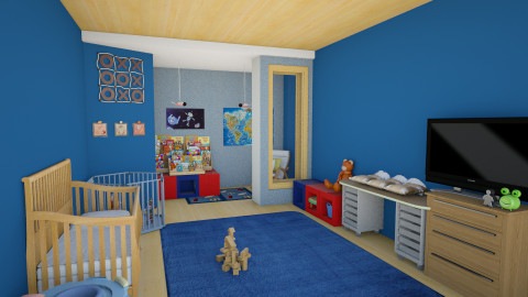 Kid nurse  - Kids room - by Darcy Tooka Dunham