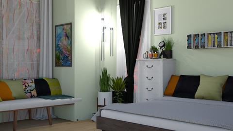 natural - Bedroom - by papp franciska