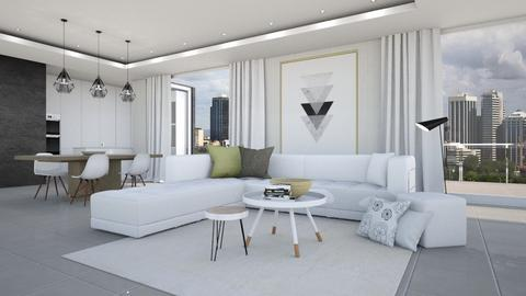 SkylinePerth - Living room - by KimAlys