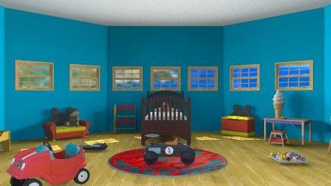 Disney Based Bedroom (boy) - Bedroom - by yankees2