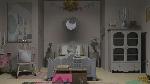 Chalet Bedroom - Vintage - Bedroom - by pixiedust000