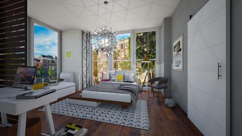 Modern Playful room - Bedroom - by rafita