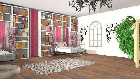 Twin Bedroom - Feminine - Bedroom - by designluvr