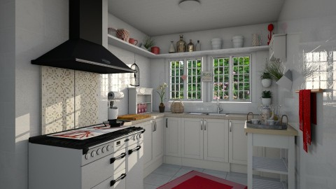 Country Reddish - Country - Kitchen - by JM Krab