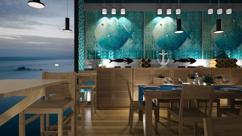 the blowfish restaurant - by rossella63