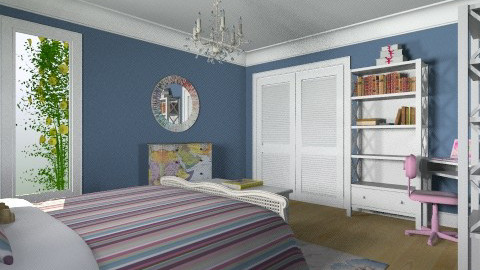 For Chloe - Eclectic - Bedroom - by Theadora
