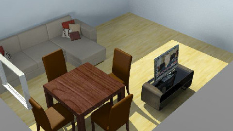 My Room02 - Dining Room - by ricardojgomez
