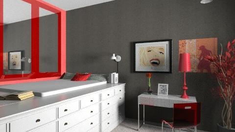she - Bedroom - by anggp