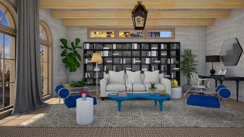 Naturally Blue - Eclectic - Living room - by 3rdfloor