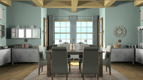 family time - Country - Kitchen - by trees designs