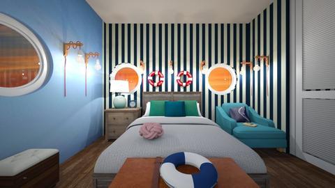 Colorful Room - Bedroom - by Ellie665