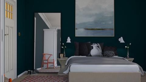 Modern Bed - Modern - Bedroom - by HenkRetro1960